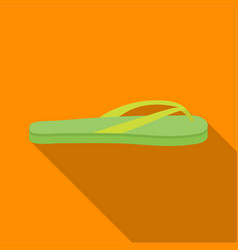 Flip-flops icon in flat style isolated on white vector
