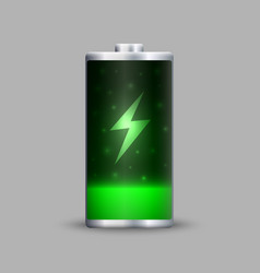 Full energy battery charge vector