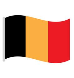 Isolated belgian flag vector