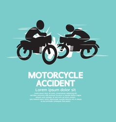 Motorcycle Accident vector image