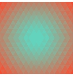 Pattern Background Triangles in trendy Colors vector image