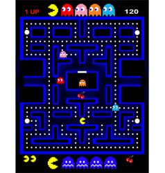 Retro arcade vector