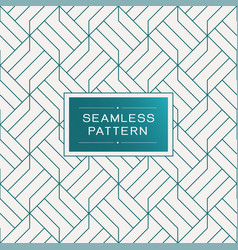 Retro seamless pattern with simple line geometric vector