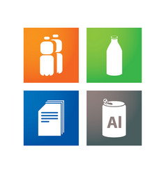 Separate collection of garbage vector