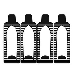 Suppositories icon simple style vector