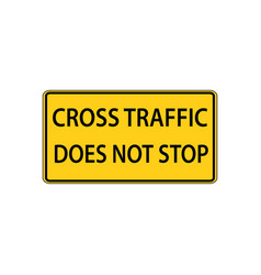 usa traffic road signs intersection is not an vector image