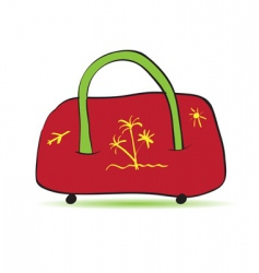 bag for travel vector image vector image