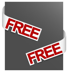 sign free vector image vector image