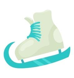 Figure skate icon cartoon style vector image