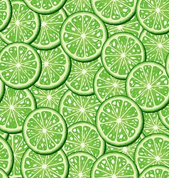 Limes seamless background vector image vector image