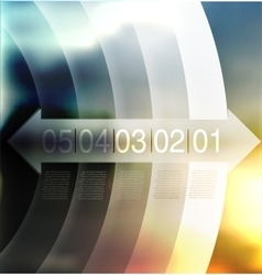 abstract background number line vector image