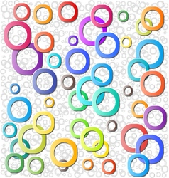 Circle abstract background vector