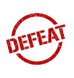 Defeat stamp vector