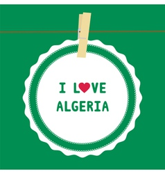 I lOVE ALGERIA4 vector