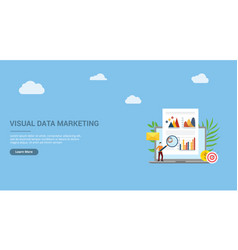 website design page template landing ui visual vector image
