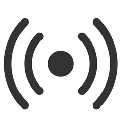 Wi-fi source flat icon vector