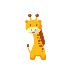 Toy African Giraffe vector image vector image