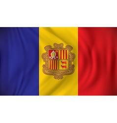 Flag of Andorra vector image