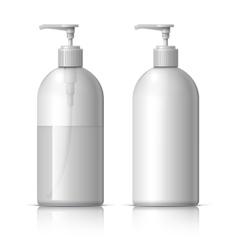 Realistic Dispenser for soap vector image