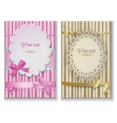 beautiful Cards vector image vector image
