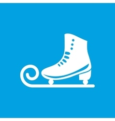 Ice skate icon vector image vector image