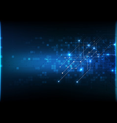 Abstract background technology communication data vector