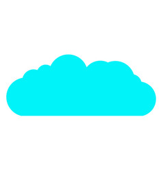cloud icon cloud for web site poster vector image