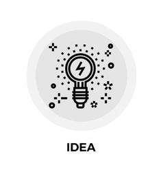 Idea Line Icon vector image