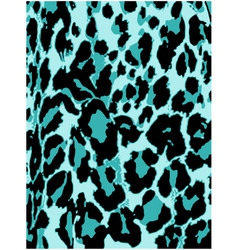 Leopard pattern background vector