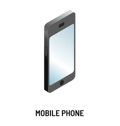 mobile phone modern device or gadget smartphone vector image