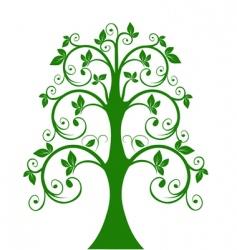 openwork tree vector image