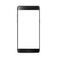 Smartphone isolated on white vector