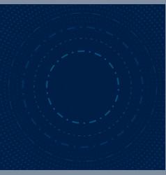 abstract circles and dots modern vector image vector image