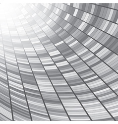 Abstract perspective tunnel background vector image