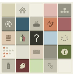 Background the computer4 vector image