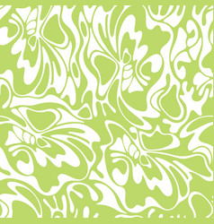 Color seamless swirl olive background green vector