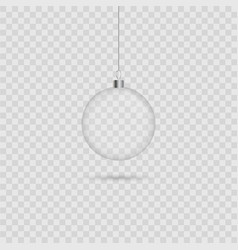 abstract christmas ball vector image