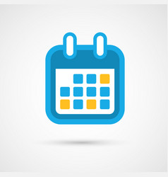 Calendar icon - month vector