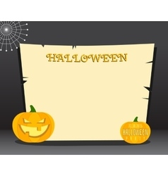 Halloween background with place for text Happy vector