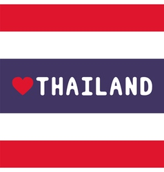 I love Thailand18 vector