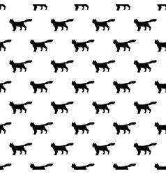 Cat pattern seamless vector