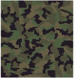 digital camouflage vector image