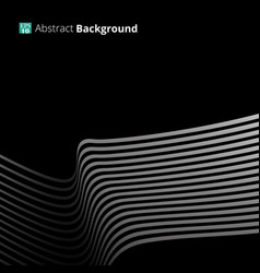 abstract background with white stripe lines vector image