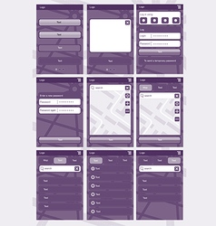Application template6 vector