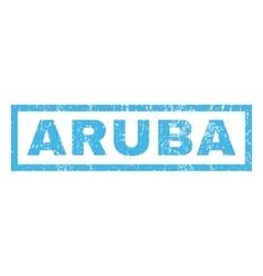 Aruba Rubber Stamp vector