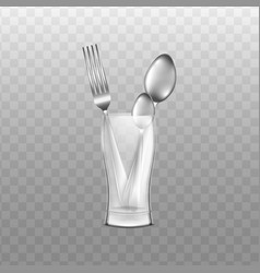 clean dishes vector image
