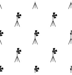 Searchlight for cinemamaking movie single icon in vector