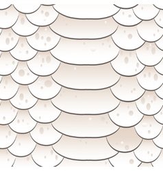 Snake skin texture Seamless pattern white vector image