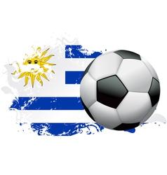 Uruguay Soccer Grunge vector