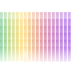 pastel rainbow pixel bar abstract background vector image vector image